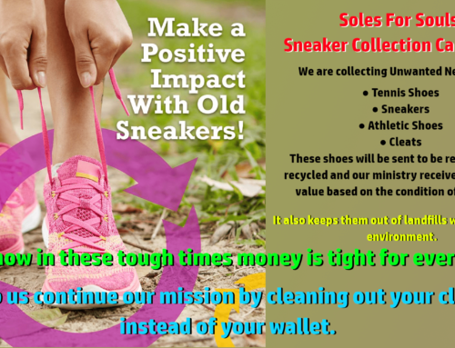 Soles For Souls Sneaker Recycling Fundraiser Begins