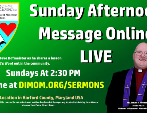 Sunday Morning Live Stream – Coming Soon