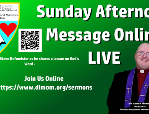 Sunday Afternoon Message – 9/12/2021 – Check Your Beatitudes Series #5 – Mercy Me